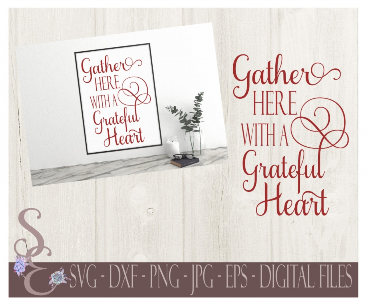 Cricut Vs Silhouette For Vinyl Gather Here With A Grateful Heart Svg Fall Thanksgiving Digital Cut File Cricut Silhouette Dxf Png Jpg Eps Print File Equalmarriagefl Vinyl From Cricut Vs Silhouette