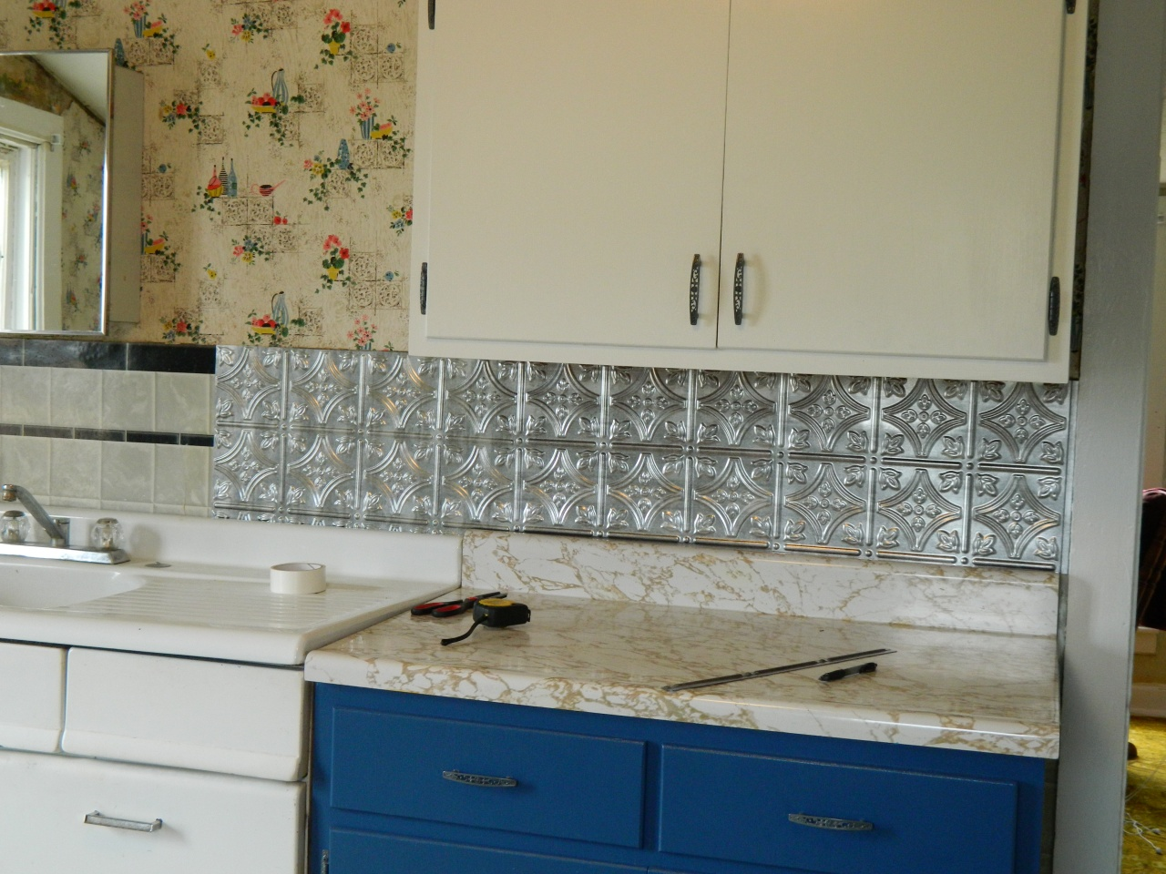 - Peel And Stick Vinyl Backsplash Remarkable Kitchen Tiles Lowes