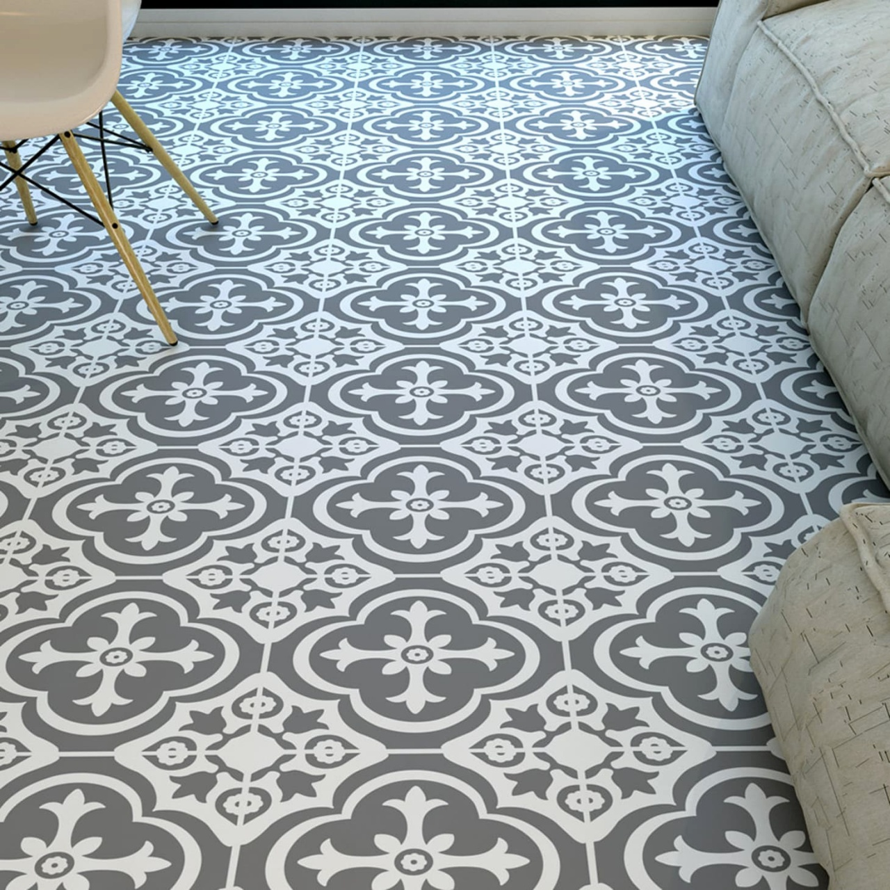 Self Adhesive Vinyl Floor Tiles
