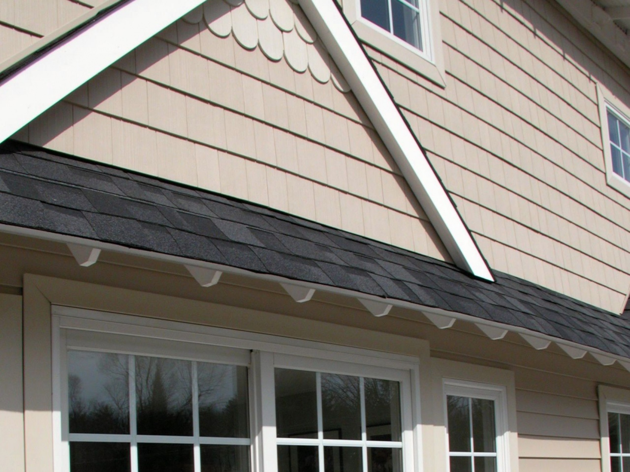 Replace Vinyl Siding With Brick Fiber Cement Installation