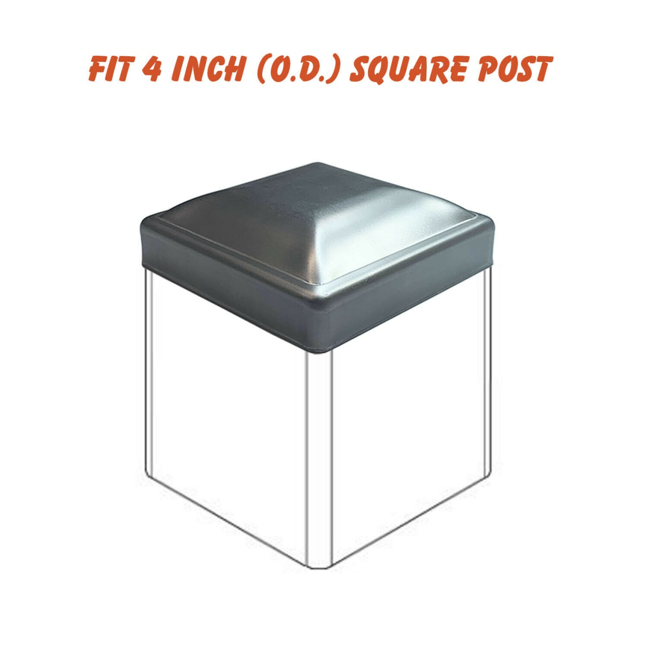 Solar Lights For Vinyl Fence Posts Details About Oasis 4 Square Steel Post Caps Fence Post Caps Deck Post Caps 4x4 O D Equalmarriagefl Vinyl From Solar Lights For Vinyl Fence