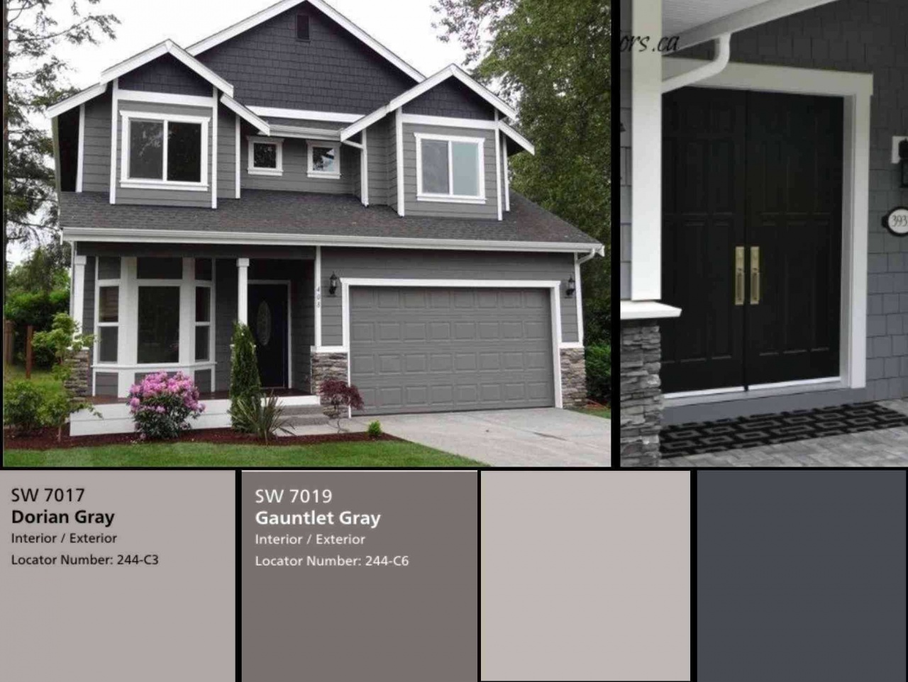 Vinyl Siding Colors For Houses Updated Farmhouse Exterior Screet