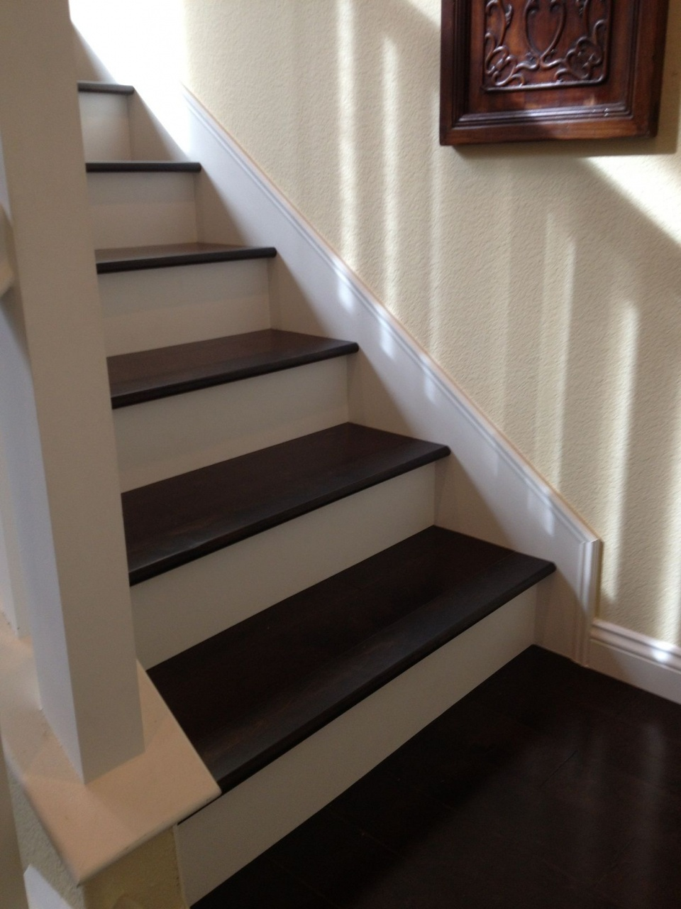 Image of: Vinyl Stairs Treads And Risers I M Going To Do White Risers Like These On My Staircase I Equalmarriagefl Vinyl From Vinyl Stairs Treads And Risers Pictures
