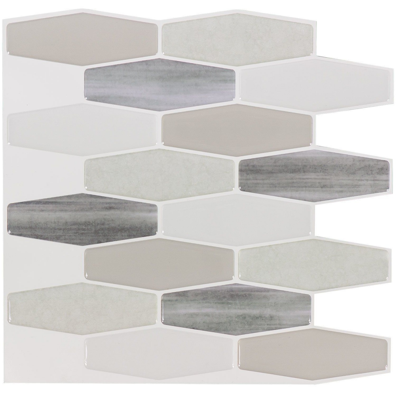 Vinyl Tiles Peel And Stick 10 X 10 Vinyl Peel Stick Mosaic Tile In Grey White Equalmarriagefl Vinyl From Vinyl Tiles Peel And Stick Pictures